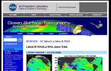 Screenshot zu 'Ocean Surface Topography from Space-Science'
