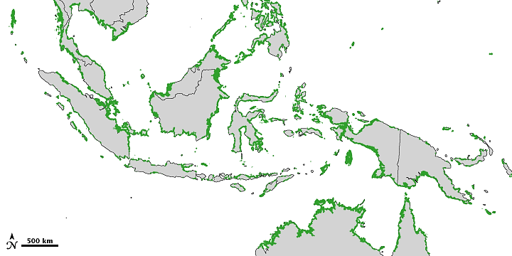 Mapping Mangroves by Satellite (SE Asia)