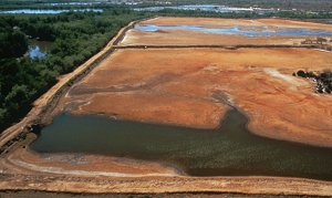 Shrimp Farm in Honduras